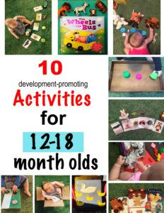 10 development promoting activities for 12-18 month olds, activities for one year old, activities for 12 month old, activities for 13 month old, activities for 14 month old, activities for 15 month old, activities for 16 month old, activities for 17 month old, activities for 18 month old