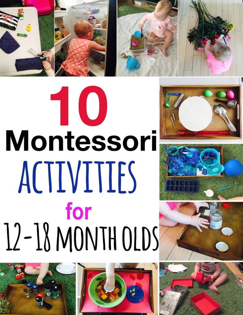 10 montessori inspired activities for toddlers montessori
