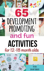 65 Development-Promoting And Fun Activities for 12-18 month olds e-book