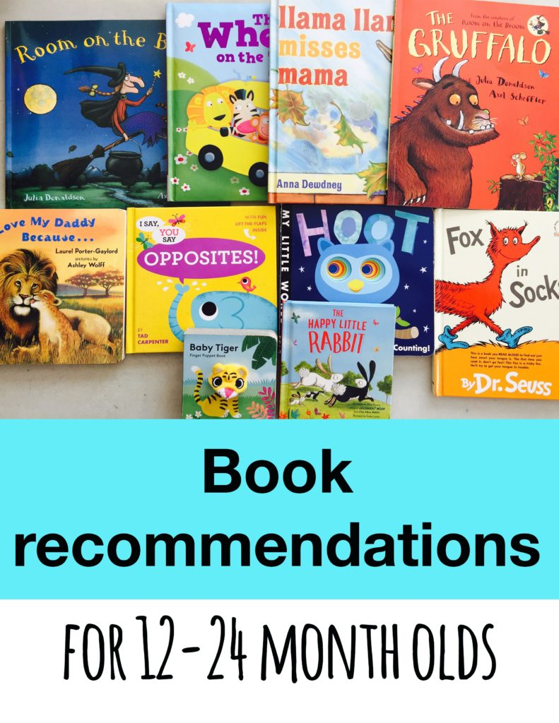 Our favorite books from 12 to 24 months, best books for one year olds, best books for two year olds, best books for toddlers, book recommendations for todlers