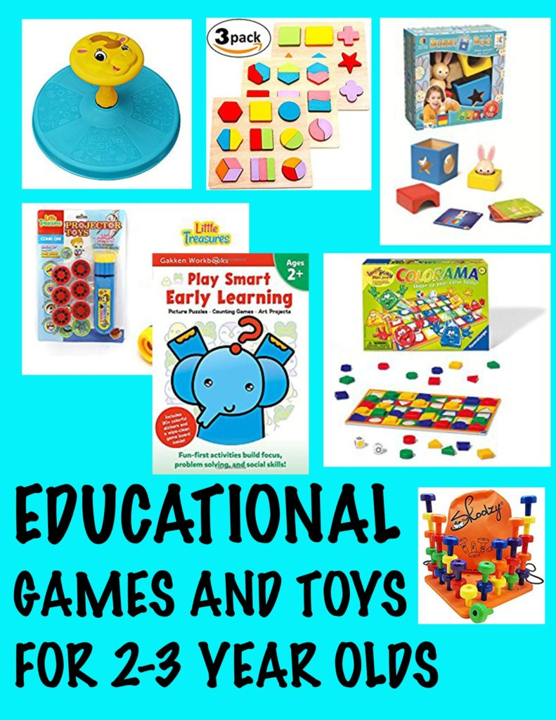 Educational Toys For 2-3 Year Olds - Wow Blog